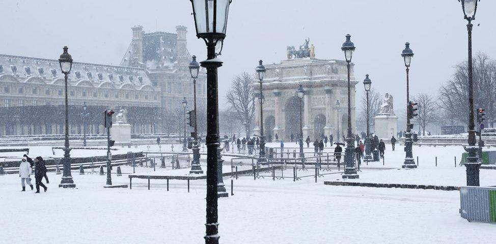 Малая Триумфальная арка на площади Каррузель