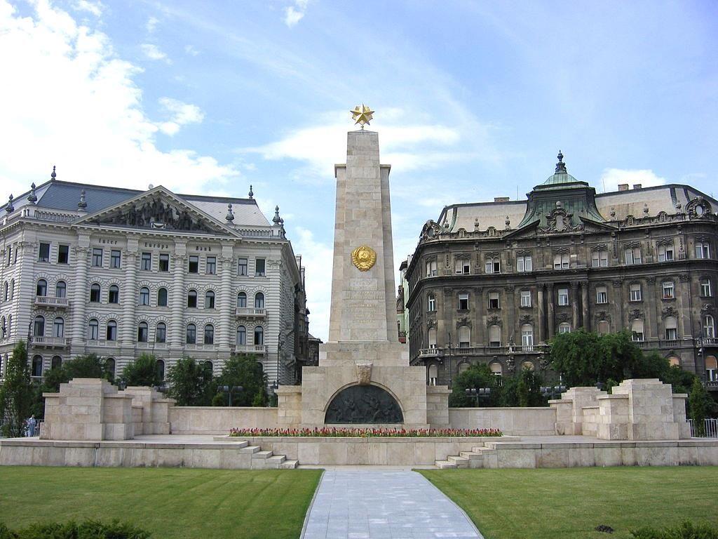 Памятник Советским солдатам в Будапеште