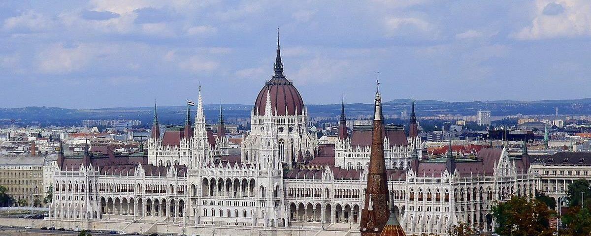 Здание венгерского парламента (Országház — Орсагхаз)