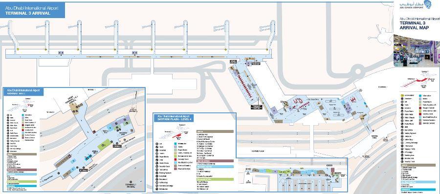 Терминал 3 аэропорта Абу-Даби – зона вылета