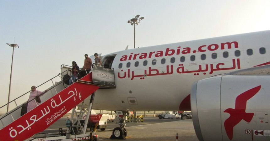Бюджетный перевозчик Air Arabia