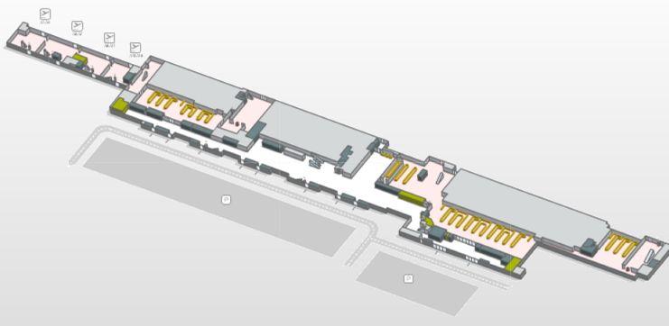 shema terminala aeroporta gran-kanariya
