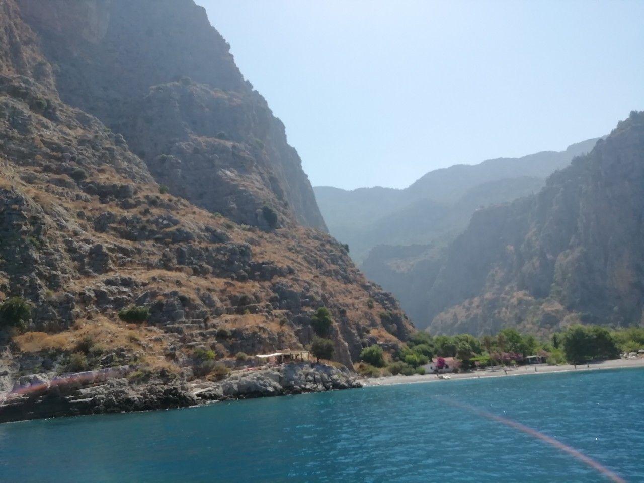 dolina babochek, vid s morya