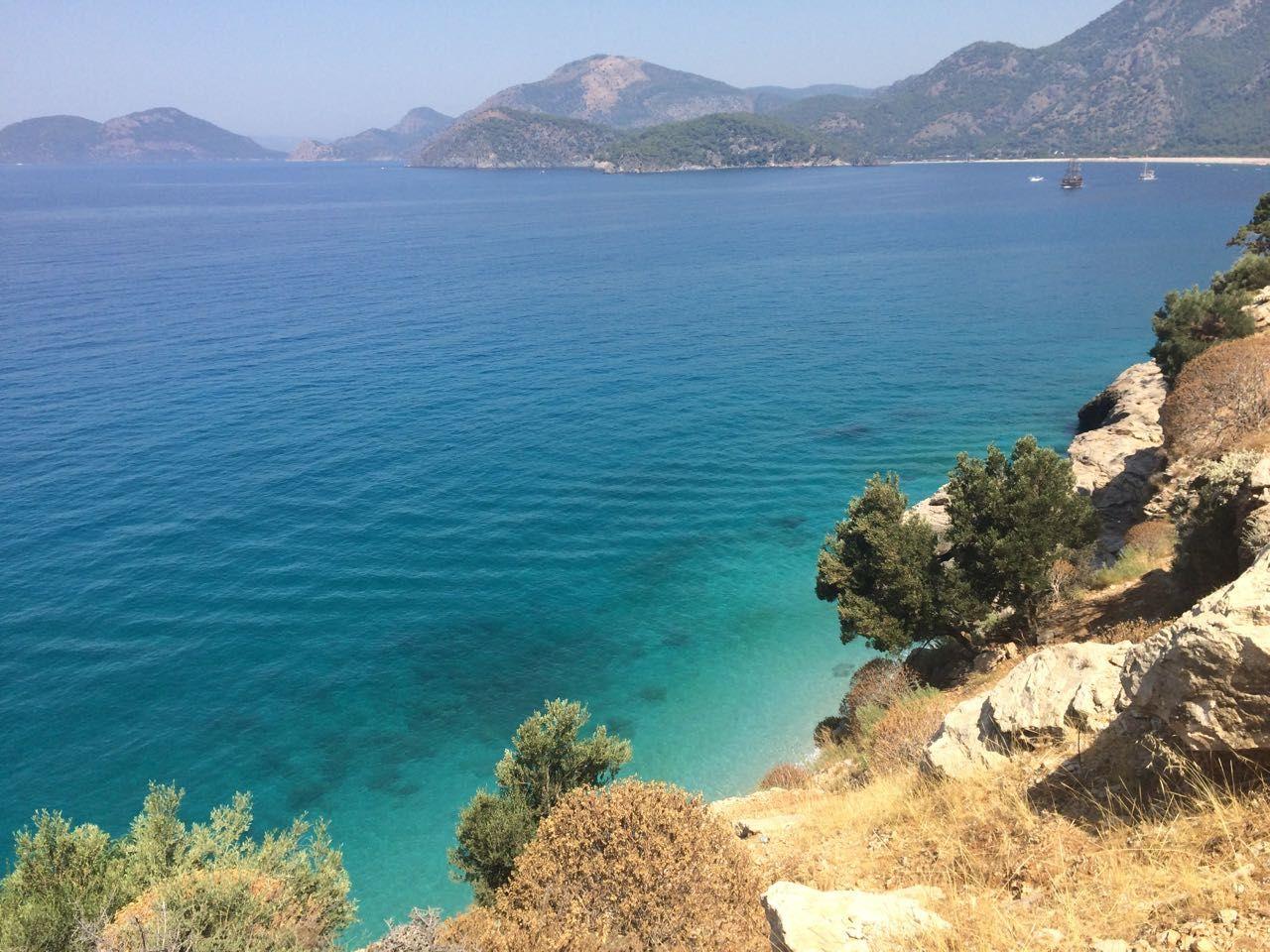likiyskaya tropa, vid na more