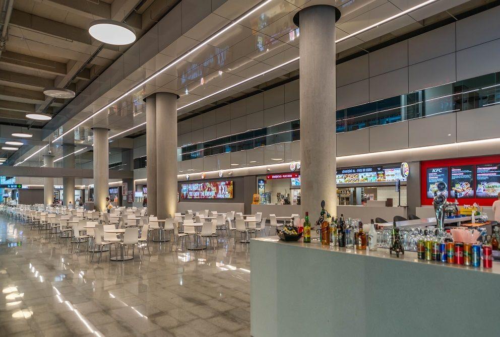 zona kafe i restoranov, Dalaman