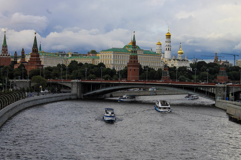 moskva-reka i kremlёvskie bashni