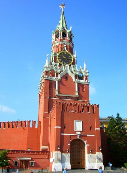 spasskaya bashnya moskovskogo kremlya