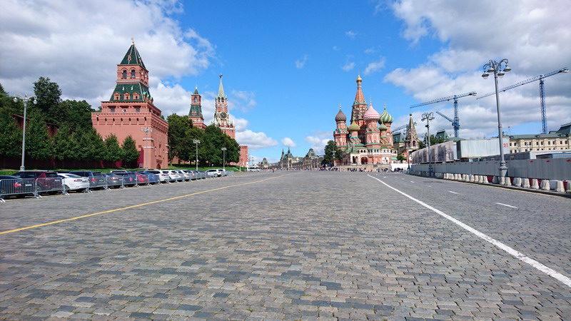 Три дня в Москве