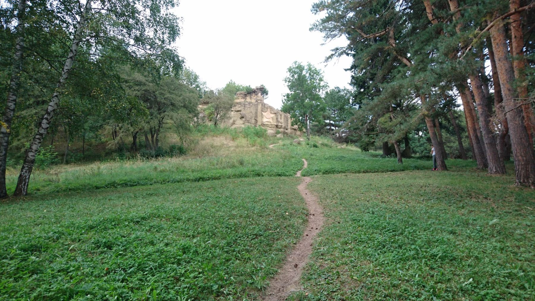 gruppa skal «serye kamni» v kislovodskom parke