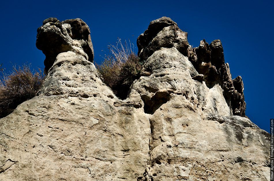 gruppa skal «sinie kamni» v kislovodkom parke